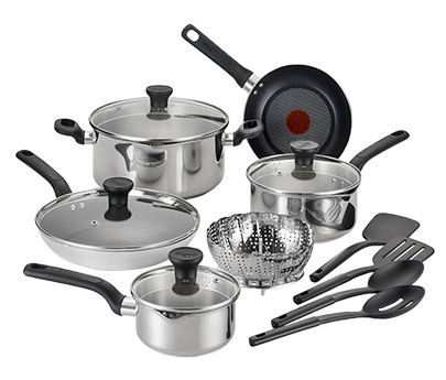 T fal excite stainless steel user manuals for Kitchen set png